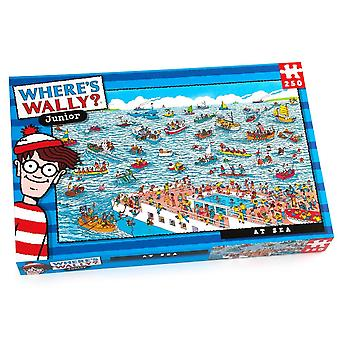 University Games Where's Wally? At Sea 250 Piece Jigsaw Puzzle