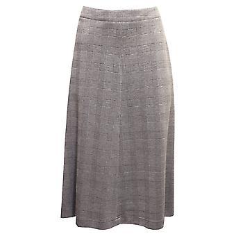 EUGEN KLEIN Eugen Klein Black And Grey Check Skirt 4934 92134 83