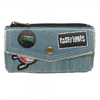 Wallet - Teenage Mutant Ninja Turtles - Casey Jones Front Flap Jrs gw4stdtmt