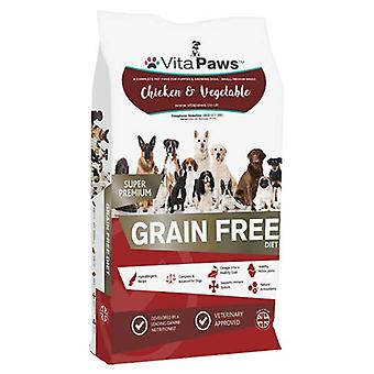 Vitapaws/dog-food/chicken-small-med-puppy - 12 kg