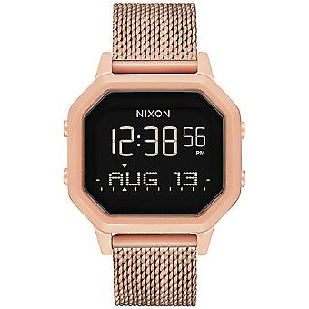 Nixon the Sirene Watch for Japanese Quartz Digital Woman with A1272897 Stainless Steel Bracelet