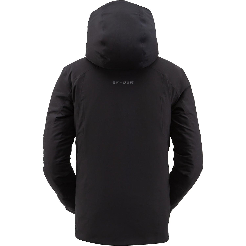 Spyder COPPER Herren Gore-Tex Primaloft Ski Jacke schwarz