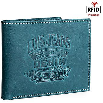Véritable cuir Horizontal Men's Wallet Model Keel