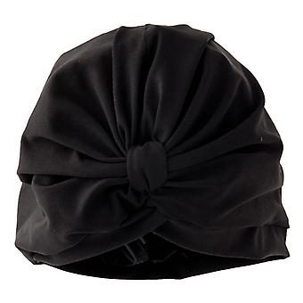 Göttin schwarz Luxus Dusche Turban