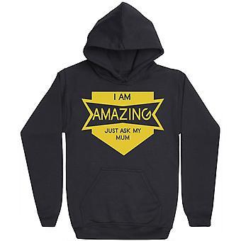 Jag är fantastisk-mens hoodie