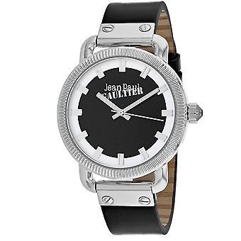 Jean Paul Gaultier Men's Index Black Dial Uhr - 8504407