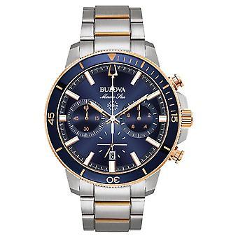 Bulova 98b301 Marine Star Chronograph Montre homme 45 Mm
