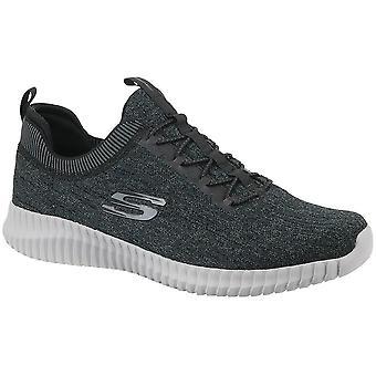 Skechers Elite Flex 52642BKGY universal kaikki vuoden miesten kengät