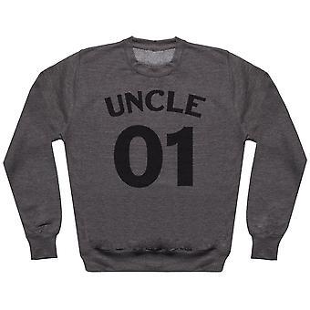 Uncle 01 Nephew, Niece 02 - Matching Set - Baby / Kids Sweater & Dad Sweater