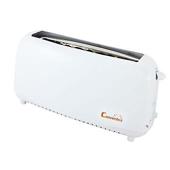 Toaster with COMELEC TP1709 750W white defrosting function