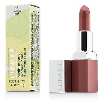 Clinique Clinique Pop Lip Colour + Primer - # 18 Papaya Pop - 3.9g/0.13oz