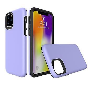 Para iPhone 11 Pro Caso, Protector a prueba de golpes Cubierta fuerte Púrpura