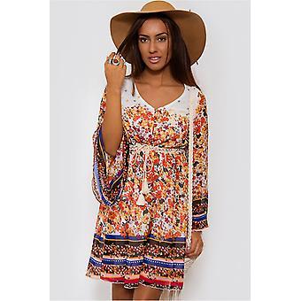 Coachella Boho Shift Dress
