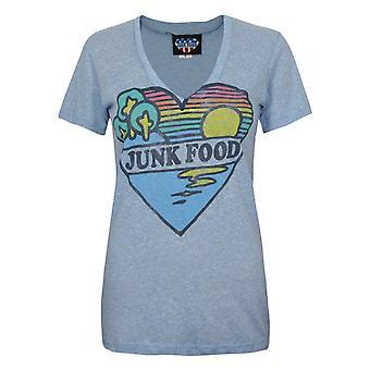 Junk Food Heart Paradise Femmes-apos;s T-shirt