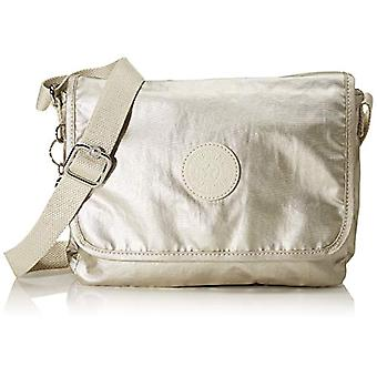 Kipling Nitany Women's Gold Shoulder Bag (Cloud Metal) 24.5x18x6 centimeters (B x H x T)