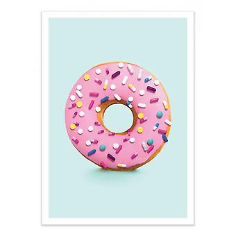 Art-Poster - Happy Pills - Paul Fuentes