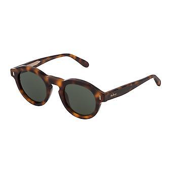 Mulberry Gian SML004 09AJ Havana Brown/Green Sunglasses
