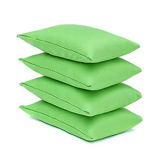 Lime Water Resistant Fabric Garden Game Sports PE Sensory Juggling Bean Bags 4 Pack