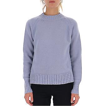 -apos;S Max Mara 936660293000134011 Women-apos;s Light Blue Wool Sweater