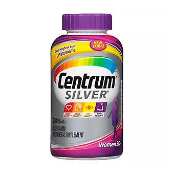 Centrum silver women 50+ multivitamin, tablets, 200 ea