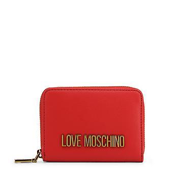 Love Moschino Original Women Spring/Summer Wallet Red Color - 71249