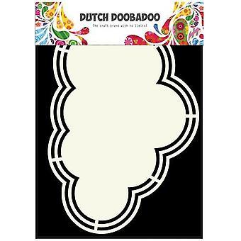 Néerlandais Doobadoo Dutch Shape Art cadre Cloud A5 470.713.145