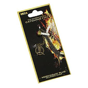 Hunger Games Catching Fire Mockingjay Plug Phone Charm