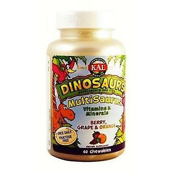 Kal Multisaurus Vit/min Dinos 60Comp. Kal