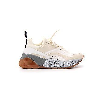 Stella Mccartney 491514w1eb79026 Women's White Faux Leather Sneakers