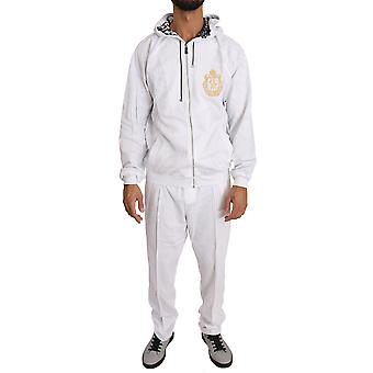 White cotton-sweater-pants  tracksuit