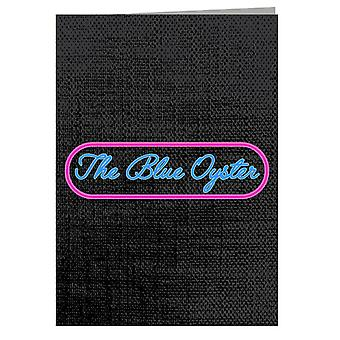 Police Academy The Blue Oyster Greeting Card
