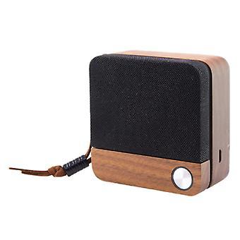 Wireless Bluetooth Vorbitor Eco Speak KSIX 400 mAh 3.5W Lemn