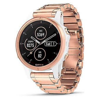 Garmin - Smartwatch - fenix 5S Plus Sapphire White Rose Gold - 010-01987-11