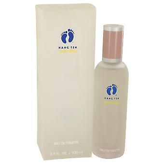 Hang Ten by California Eau De Toilette Spray 3.4 oz / 100 ml (Women)