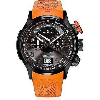 Edox - Relógio de Pulso - Homens - Cronoral - Cronógrafo - 38001 TINNO3 NO3