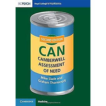 Camberwell Assessment of Need (CAN) by Mike Slade - 9781911623359 Book