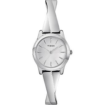 TW2R98700, Timex TW2R98700 Women's Silver-Tone Stainless Steel Expansion Band Bangle Watch