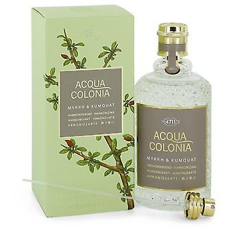4711 Acqua Colonia Myrrh & Kumquat Eau De Cologne Spray By Maurer & Wirtz 5.7 oz Eau De Cologne Spray
