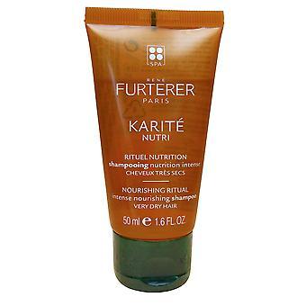 Rene Furterer Karite Nutri Intense Nourishing Shampoo Very Dry Hair 1.6 OZ