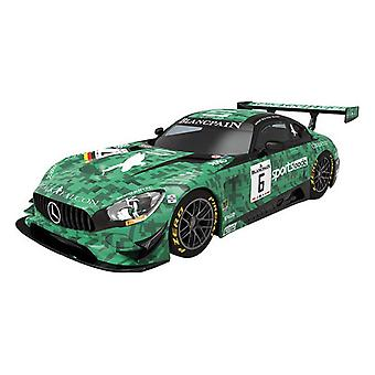 Car Mercedes Amg Gt3 Scalextric 1:32 Green