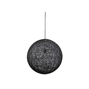 Musta maalattu string riipus 60