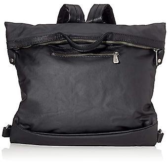 Fritzi aus Preussen Harper Canvas - Black Women's Backpack Bags (Black) 11x29x42cm (W x H L)