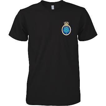 HMS Manchester - avvecklade Royal Navy fartyg T-Shirt färg