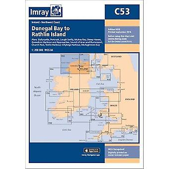 Imray Chart C53 - Donegal Bay to Rathlin Island by Imray - 97817867905