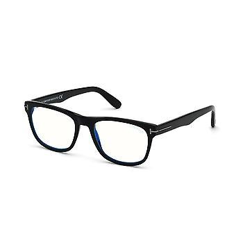 توم فورد TF5662-B 001 نظارات سوداء لامعة