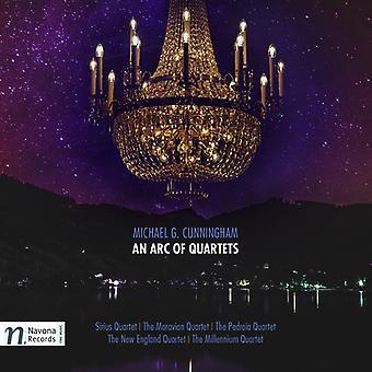 Cunningham / Sirius Quartet / Moravian Quartet - Michael G. Cunningham: An Arc of [CD] USA import