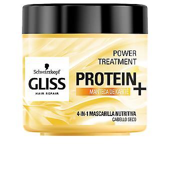Schwarzkopf Gliss Protein+ Mask Nutrición Cabello Seco 400 ml Naisille