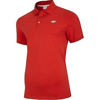 4F NOSH4 TSM007 Czerwony NOSH4TSM007CZERWONY universal ganzjährig Herren T-shirt