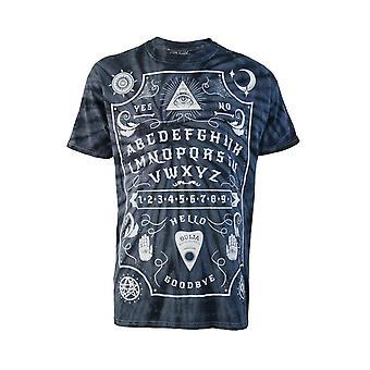 Darkside - ouija board grey tie-dye - mens t-shirt