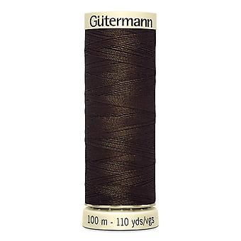 Gutermann Sew-all 100% Polyester Thread 100m Hand and Machine Colour Code  - 406